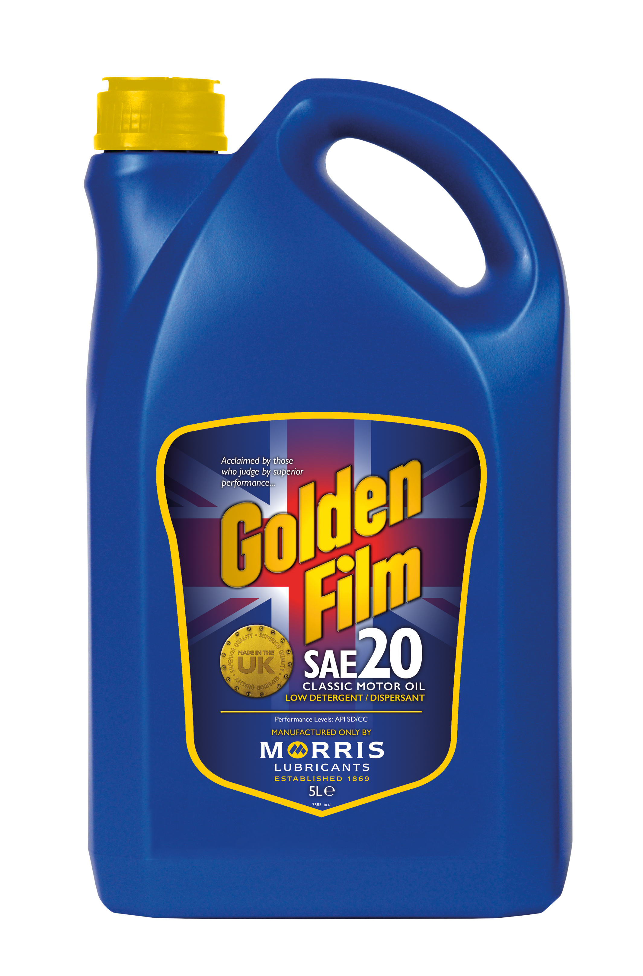 Morris Lubricants Golden Film Sae 20 Classic Motor Oil